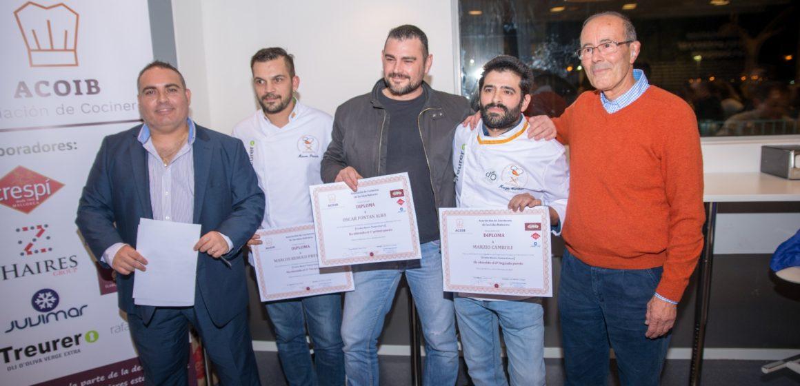 II Trofeo Mestre Tomeu Esteva para Óscar Fontán