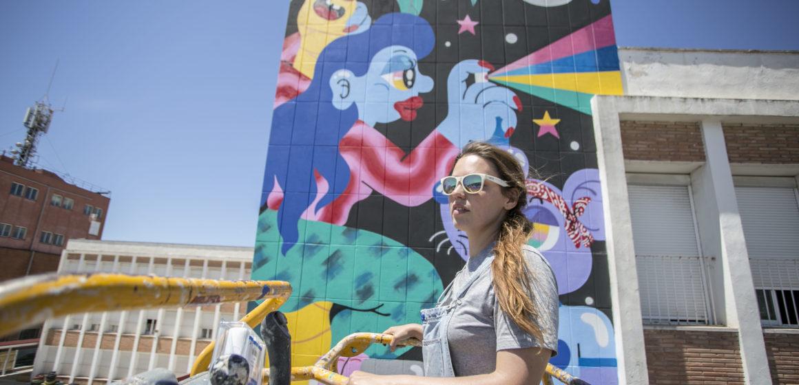 Fàtima de Juan realizará un mural en el barrio de Lunetta (Italia)