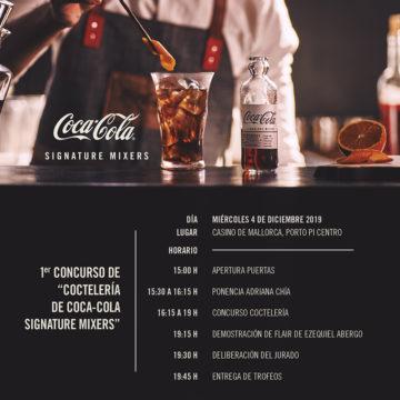 LLEGA EL PRIMER CONCURSO DE COCTELERIA COCA-COLA SIGNATURE MIXERS