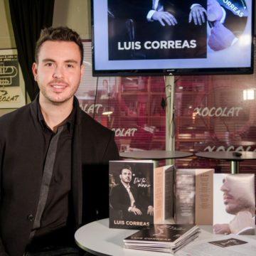 """LUIS CORREAS: """"HA SIDO ESPECIAL PARTICIPAR DIRECTAMENTE EN EL NACIMIENTO DE MI ALBUM """"DE TU MANO""""."""
