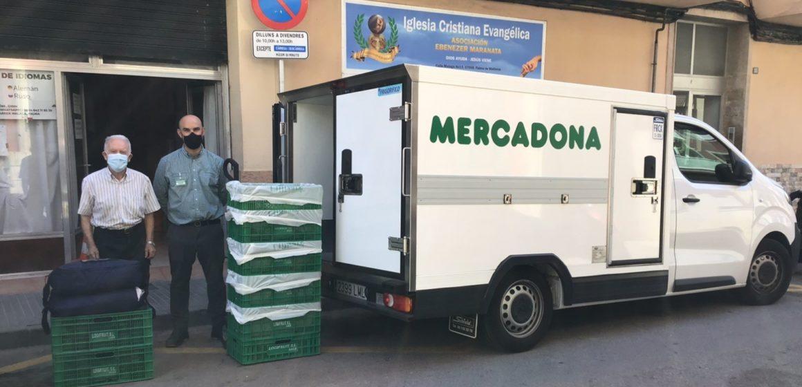 MERCADONA DONARÁ DIARIAMENTE ALIMENTOS AL COMEDOR SOCIAL EBENEZER MARANATA
